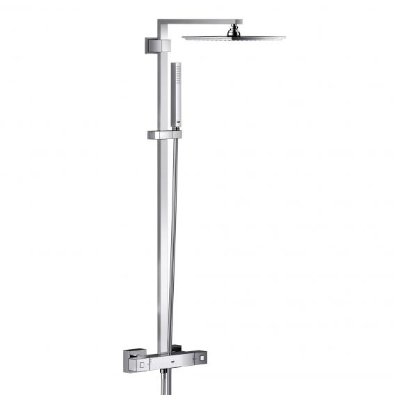 Grohe Euphoria Cube XXL System 230 shower system with thermostatic mixer for wall mounting
