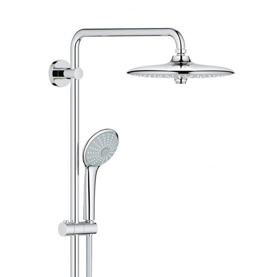 Grohe Euphoria System 260 shower system with wall-mounted diverter, EcoJoy