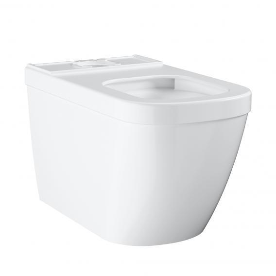 Grohe Euro Ceramic floorstanding close-coupled washdown toilet white, with PureGuard hygiene coating
