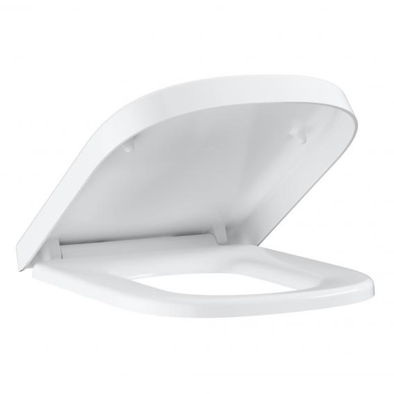 Grohe Euro Ceramic wall-mounted, washdown toilet set, with toilet seat white