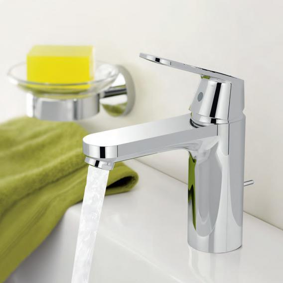 Grohe Eurosmart Cosmopolitan single lever basin mixer, M-Size with pop-up waste set