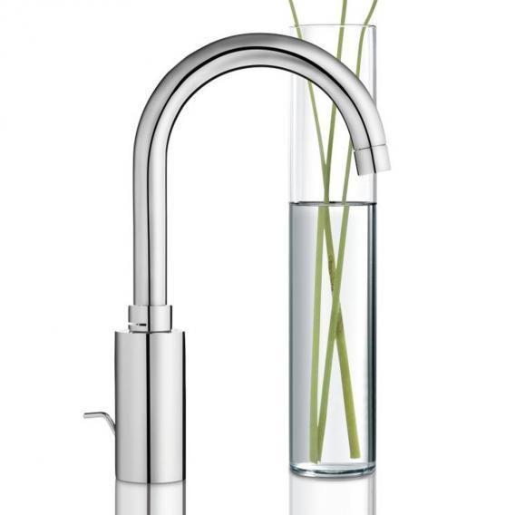 Grohe Eurosmart Cosmopolitan single lever basin mixer, Zero, L size with pop-up waste set