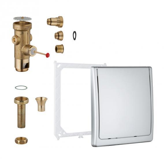 Grohe flushometer for toilet, built-in