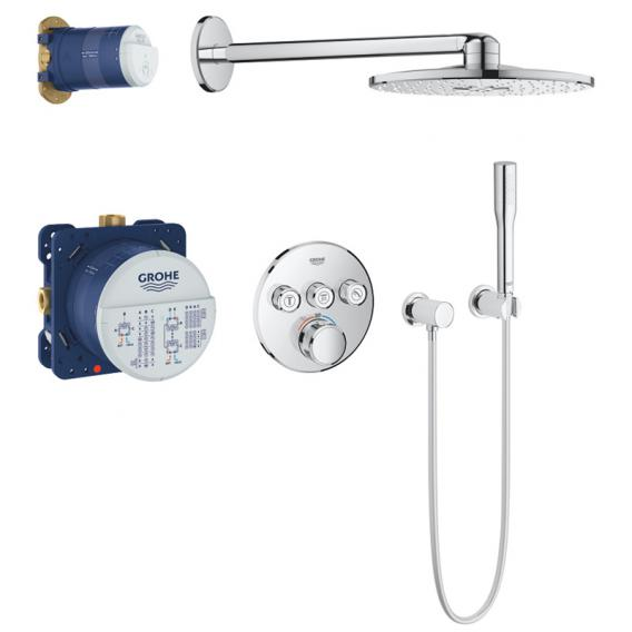 Grohe Grohtherm SmartControl concealed shower system with thermostat & Rainshower 310 SmartActive