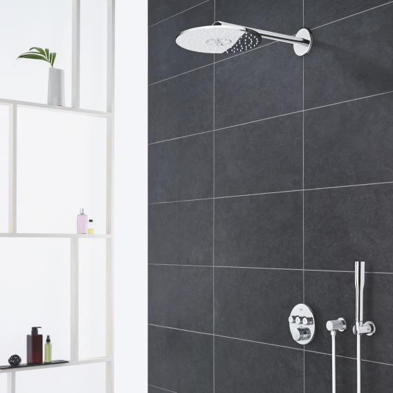 Grohe Grohtherm SmartControl shower system with thermostat & Rainshower 310 SmartActive overhead shower