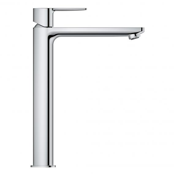 Grohe Lineare single lever basin mixer, for freestanding wash bowls, XL-Size without waste set, chrome