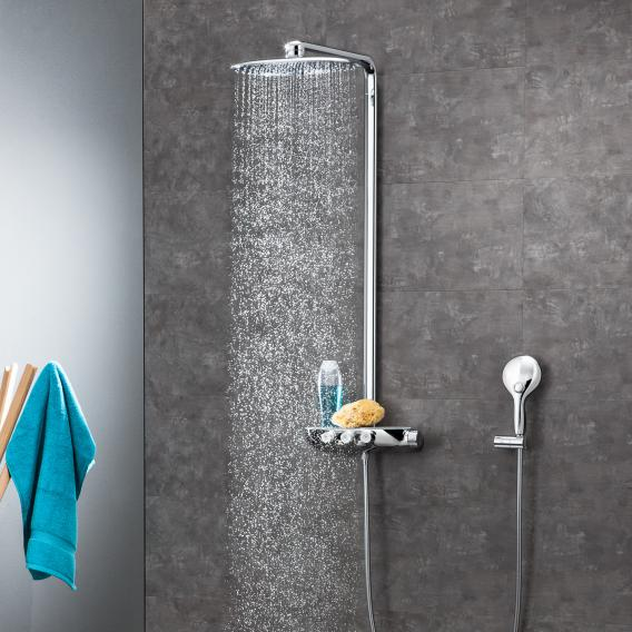 Grohe Rainshower System SmartControl 360 DUO shower system thermostatic mixer chrome