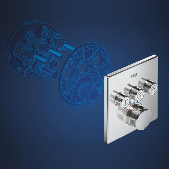 Grohe Rapido SmartBox Universal concealed installation unit