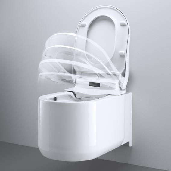 Grohe the NEW Sensia Arena shower toilet complete system for concealed cistern, wall-mounting white