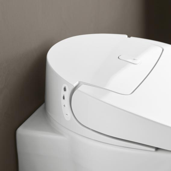Grohe the NEW Sensia Arena shower toilet complete system for concealed cistern, wall-mountin, with toilet seat white, with mounting accessories & installation set