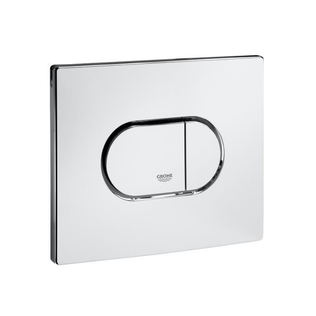 Grohe Arena Cosmopolitan toilet flush plate, for horizontal installation chrome