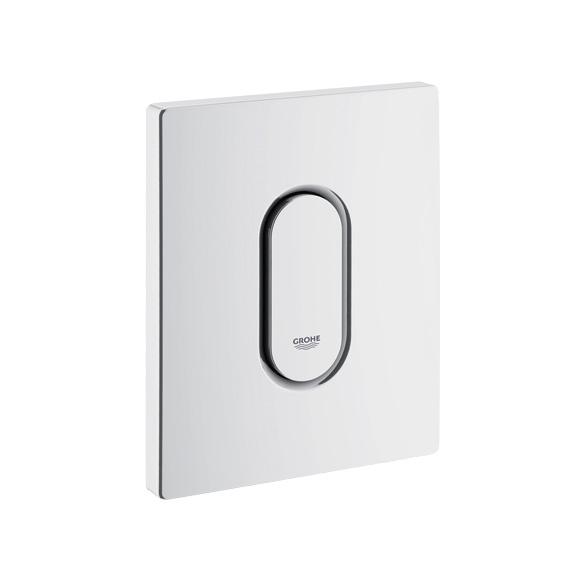 Grohe Arena Cosmopolitan urinal flush plate white
