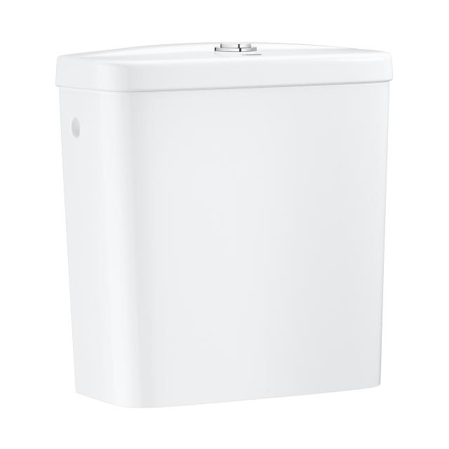 Grohe Bau Ceramic wall-mounted cistern, side connection, white