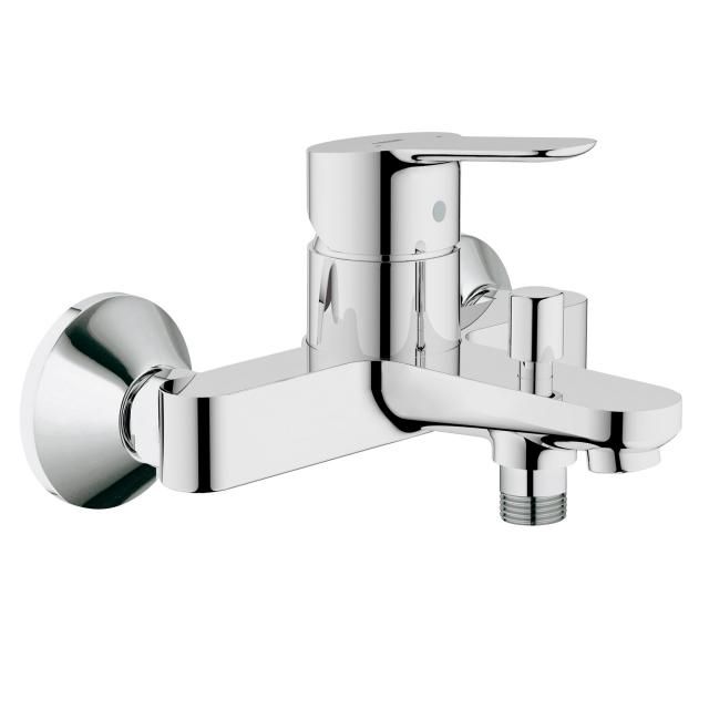 Grohe BauEdge single lever bath mixer, wall-mounted