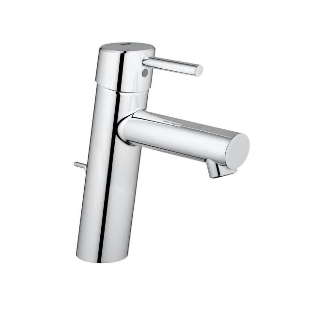 Grohe Concetto single lever basin mixer, M-Size with pop-up waste set