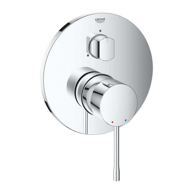 Grohe Essence single lever mixer with 3-way diverter for Rapido SmartBox chrome
