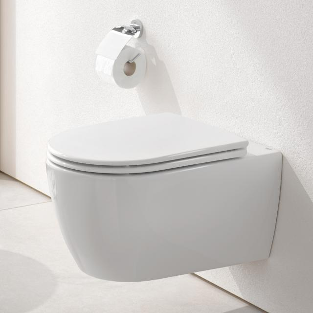 Grohe Essence wall-mounted washdown toilet, rimless