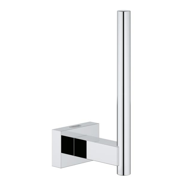 Grohe Essentials Cube toilet roll holder for spare rolls