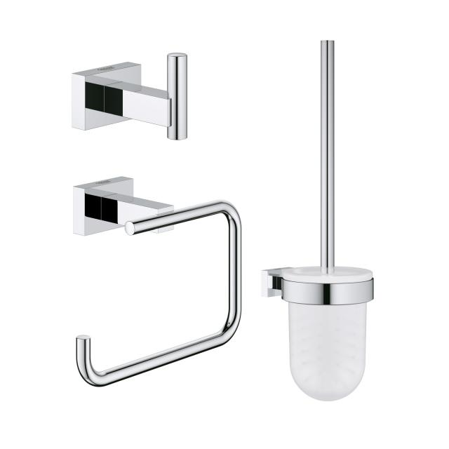 Grohe Essentials Cube toilet set 3 in 1