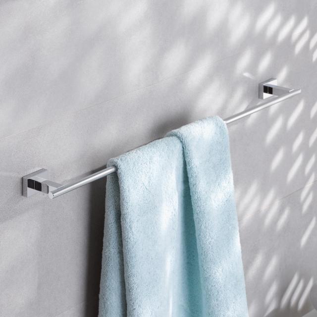 Grohe Essentials Cube towel rail chrome