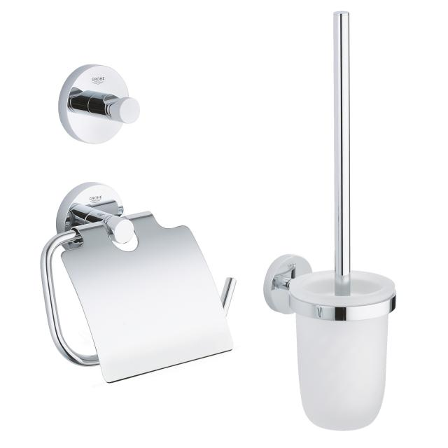 Grohe Essentials toilet set 3 in 1 chrome