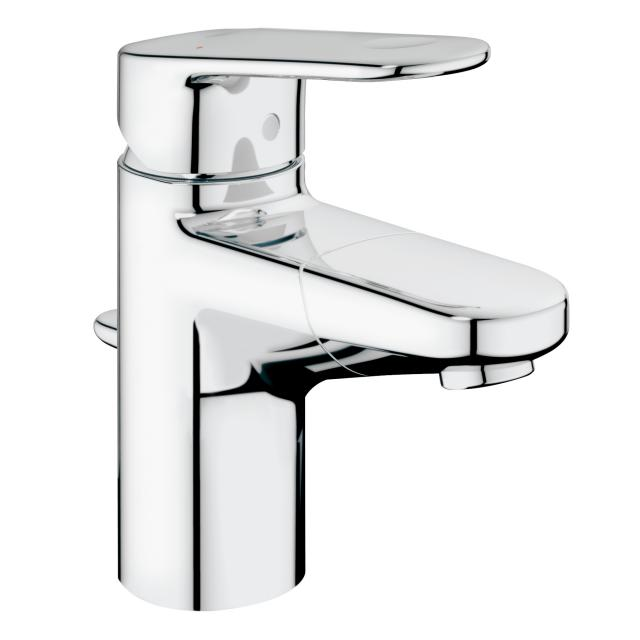 Grohe Europlus single lever basin mixer with pull-out spout, S-Size with pop-up waste set
