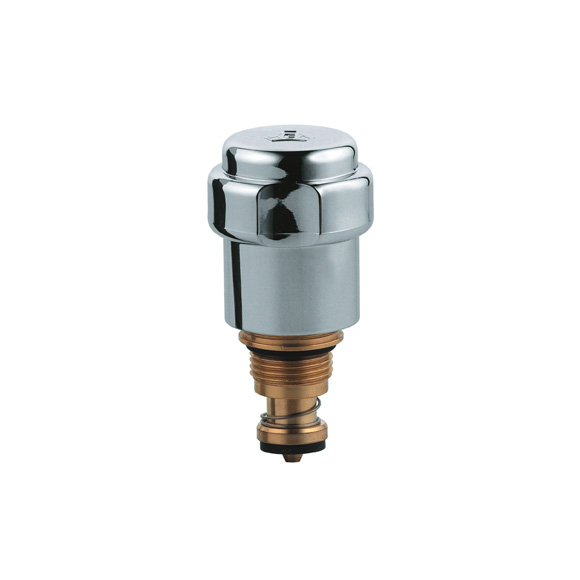 """Grohe headpart 3/8"""" 41816 WAS handle DN 10 with non-return valve, chrome"""