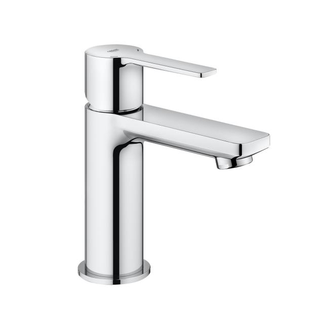 Grohe Lineare single lever basin mixer, XS-Size with push-open waste valve, chrome