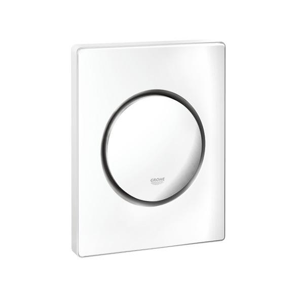 Grohe Nova Cosmopolitan urinal flush plate white