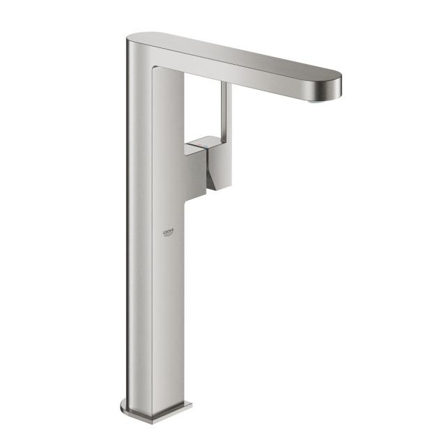 Grohe Plus single lever basin mixer, for freestanding washbowls XL Size supersteel