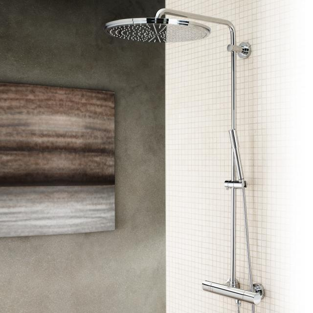 Grohe Rainshower System 400 shower system with thermostat for wall mounting