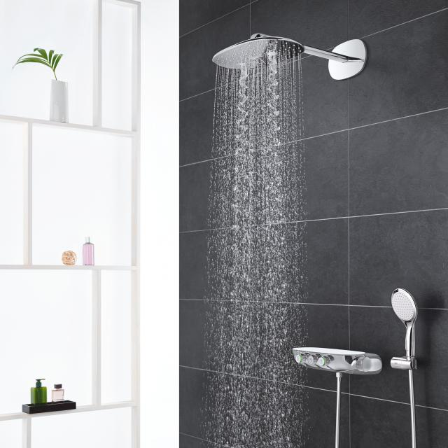Grohe Rainshower System SmartControl 360 DUO shower system with thermostatic mixer chrome