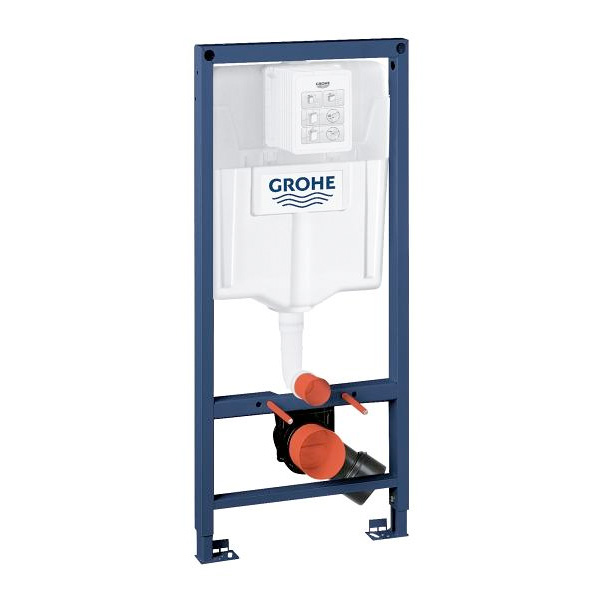 Grohe Rapid SL mounting element, H: 113 cm, for wall-mounted toilet, cistern GD 2