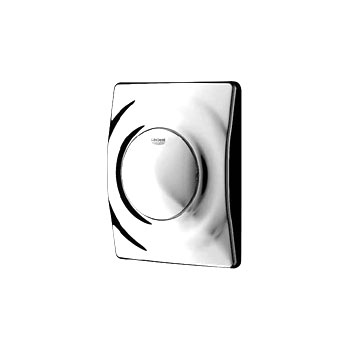 Grohe Surf urinal flush plate white