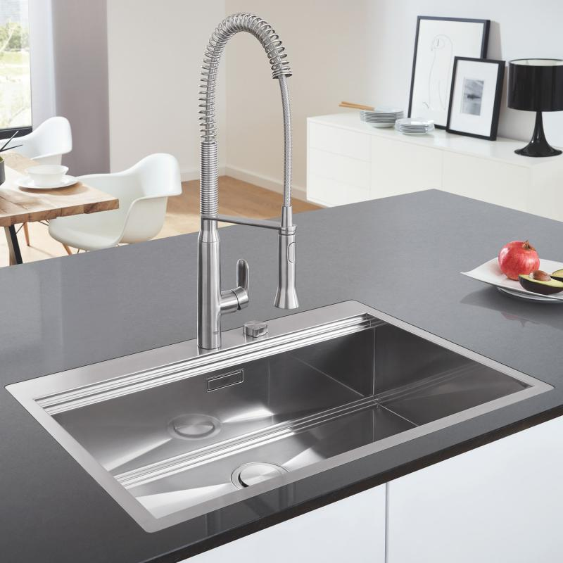 Grohe K800 built-in sink, flush-mounted - 31584SD0 | reuter.com