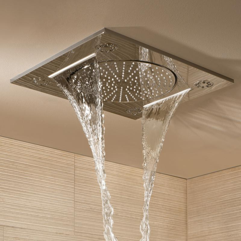 Grohe Rainshower F Series 15 Quot Multi Spray Ceiling Mounted Shower 27939001 Reuter Com