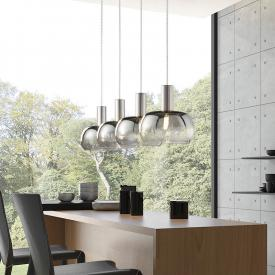 Fischer & Honsel Brad pendant light, 4 heads