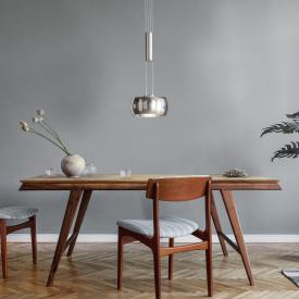 Fischer & Honsel Colette LED pendant light with dimmer, 1 head