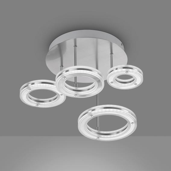 Fischer & Honsel Kreis LED ceiling light with CCT and dimmer, round
