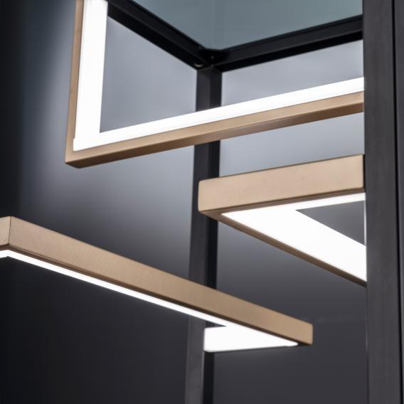 Fischer & Honsel Square LED floor light