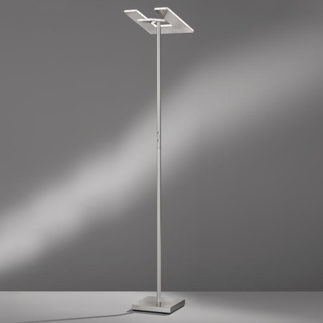 FISCHER & HONSEL T-Inlia LED floor lamp with dimmer and CCT