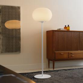 FontanaArte Bianca LED floor lamp with dimmer