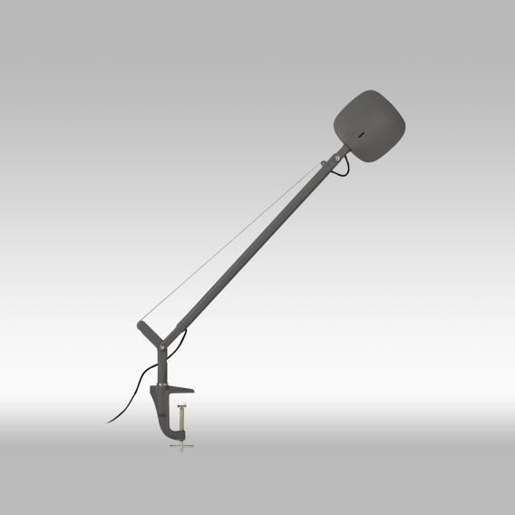 FontanaArte Minivolee LED table lamp with clamp and dimmer