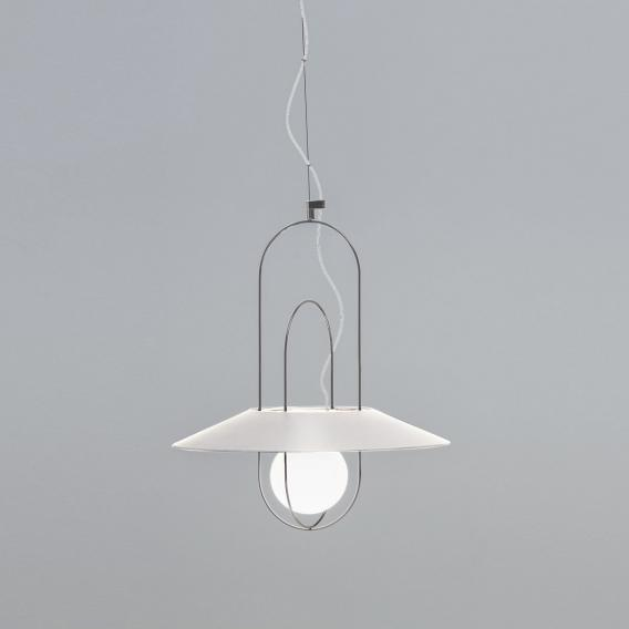 FontanaArte Setareh LED pendant light with glass diffusor, small