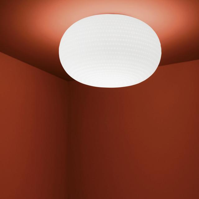 FontanaArte Bianca LED ceiling-/wall light