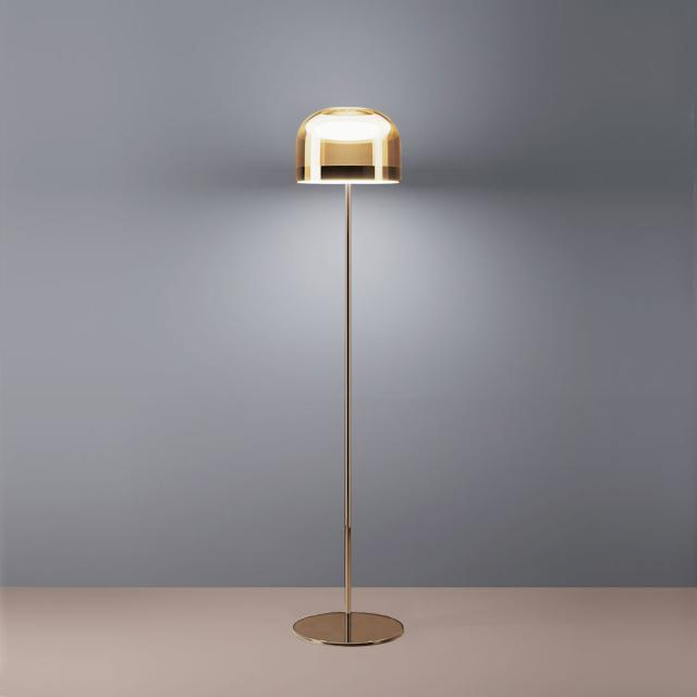 FontanaArte Equatore LED floor lamp with dimmer, small