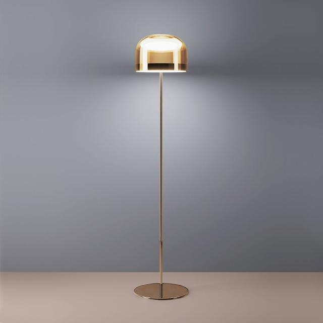 FontanaArte Equatore LED floor lamp with dimmer, large