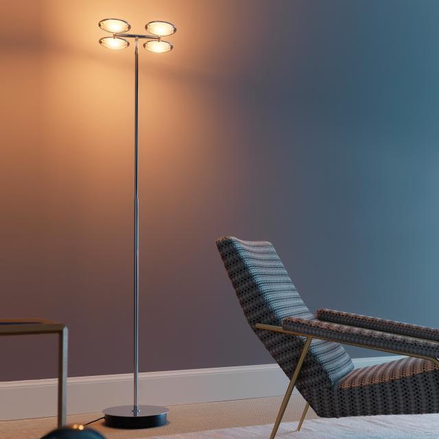 FontanaArte Nobi 4 floor lamp with dimmer