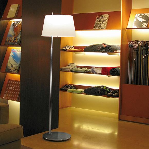 FontanaArte Passion floor lamp with dimmer