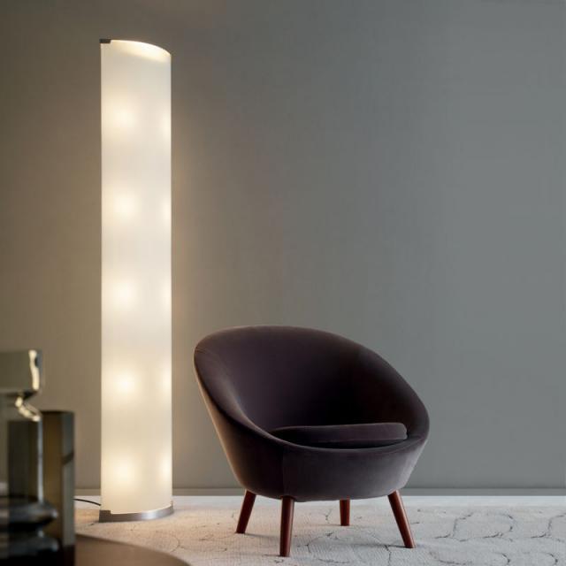 FontanaArte Pirellone floor lamp with dimmer